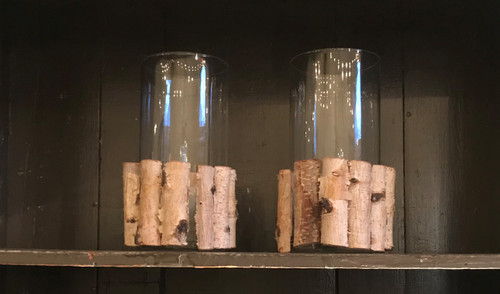 Birch Glass Jar