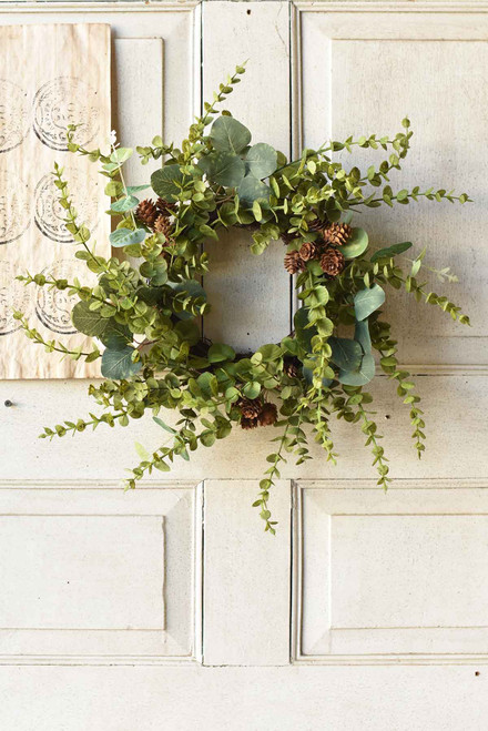 "6.5"" Eucalyptus Wreath"