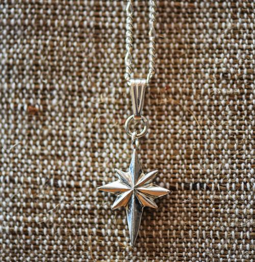 Beveled Bethlehem Star Pendant