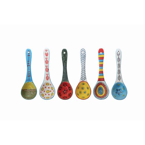 """6 1/2"""" Ceramic Spoons"""