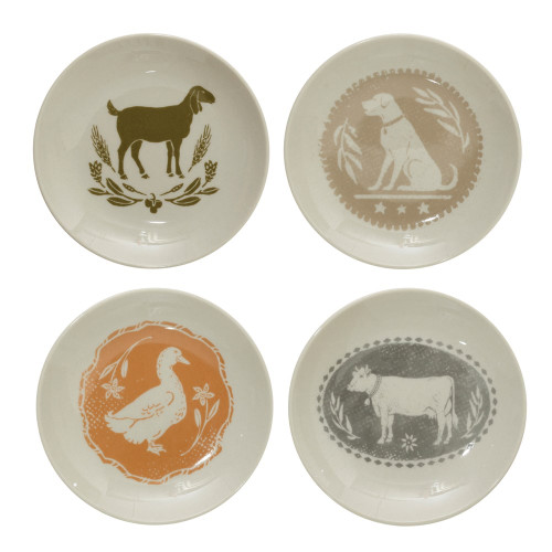 Farm Animal Plates
