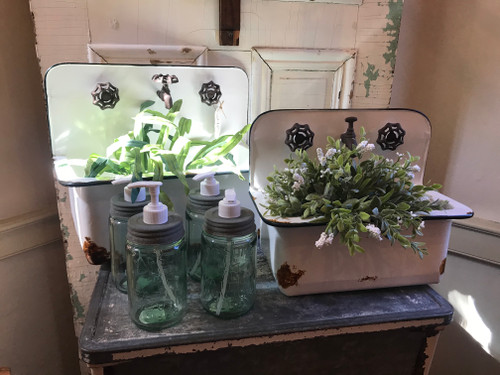 Large Sink Wall Planter