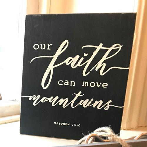 Our Faith Sign