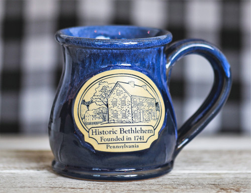 Historic Bethlehem Round Belly Mug, 10 oz.