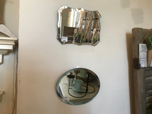 Petite Beveled Mirror