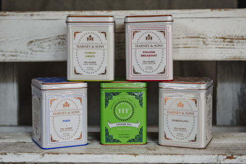 Harney & Sons Classic Collection Tea Tins