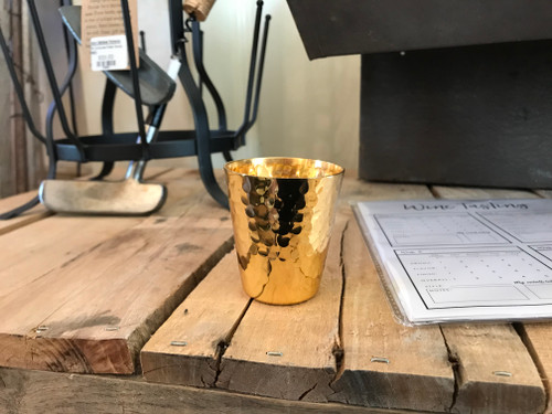Gold Shot Glass