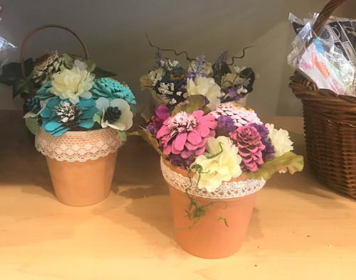 Small Basket Floral Arrangement