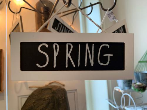 Mini Spring Chalkboard Sign