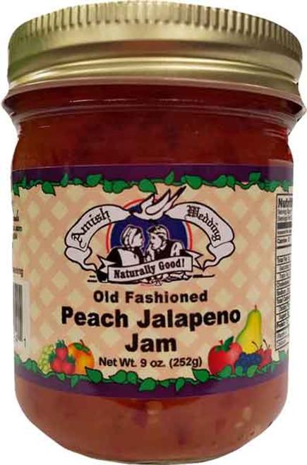 AW Old Fashioned Peach Jalapeno Jam