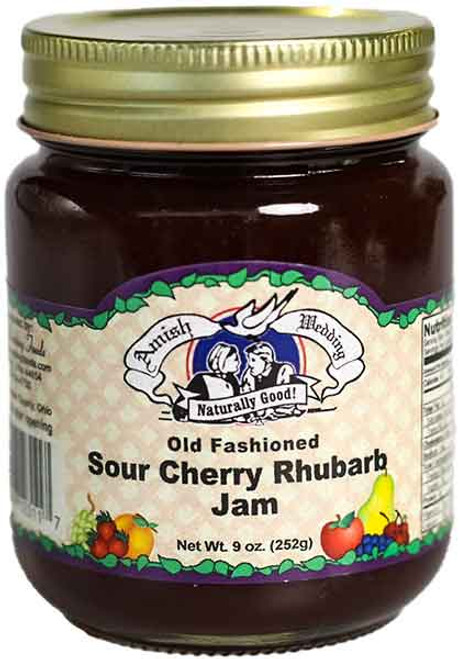 AW Old Fashioned Sour Cherry Rhubarb Jam