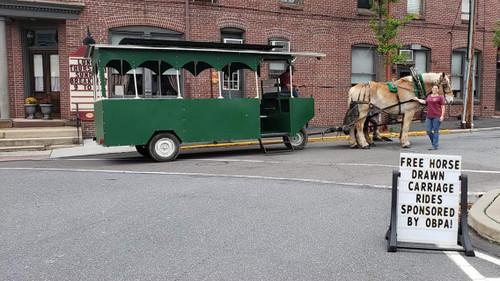 Horse Drawn Trolley Ride