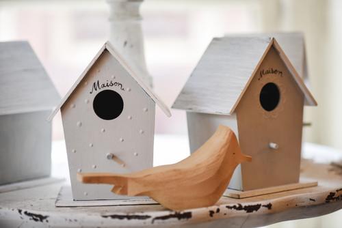 Vintage Wood Bird