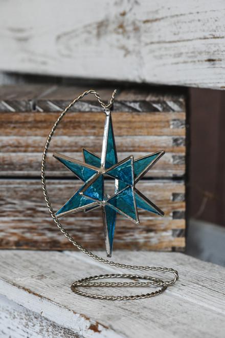 Medium Blue Moravian Star