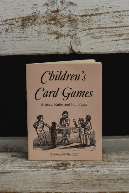 Children's Card Game Book