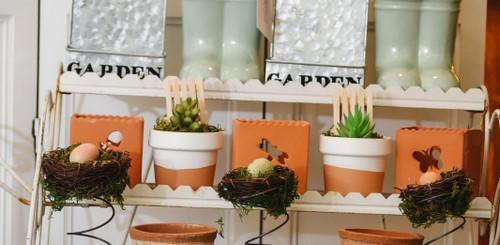 Terracotta Scalloped Pot