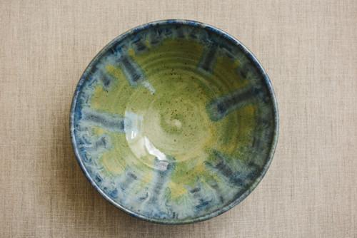 Multi-Color Ceramic Bowl