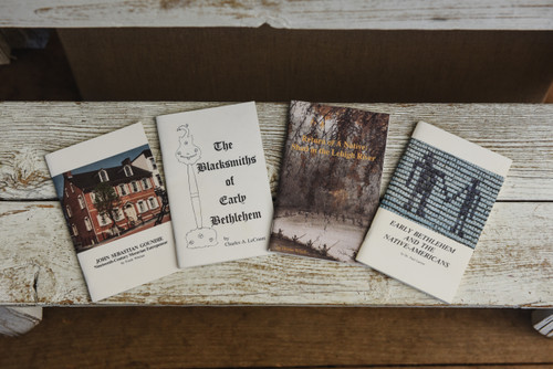 Bethlehem History Booklet Set of 4