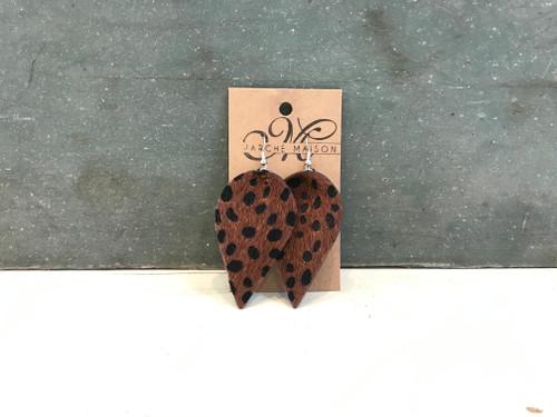 Joanna Leather Earrings