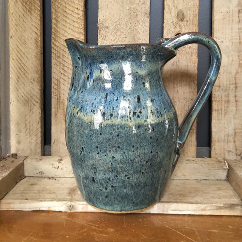 Hand Thrown Large Ceramic Pitcher