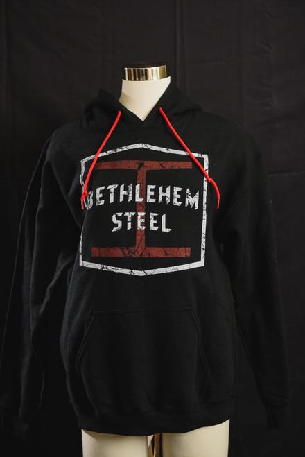 Bethlehem Steel Black I-Beam Hoodie