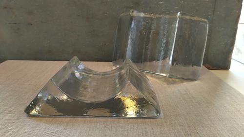 Hand Blown Glass Sushi Platter