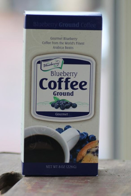 Blueberry Coffee Ground