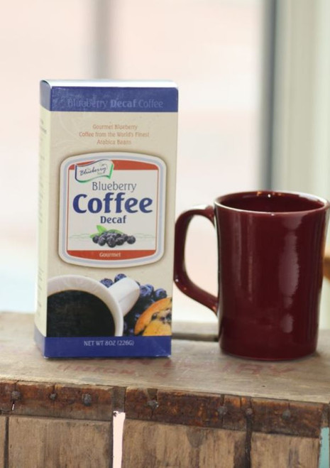 Blueberry Coffee Decaf