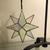 Small Flat Glass Moravian Star