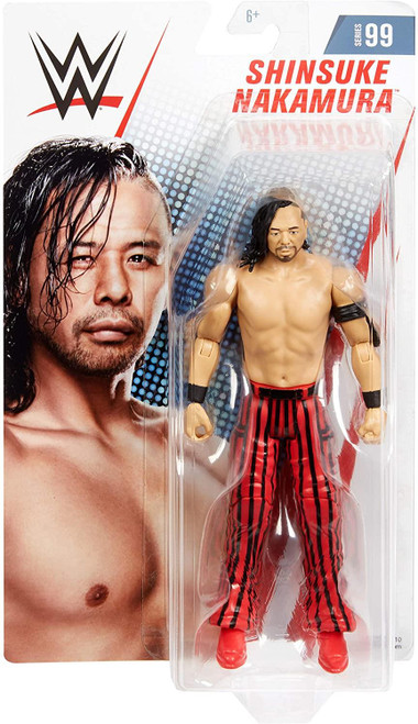 WWE GCB74 Shinsuke Nakamura Action Figure in 6-inch Scale with Articulation & Ring Gear, Multicoloured