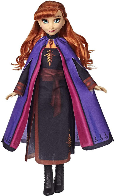Disney Frozen Anna Fashion Doll With Long Red Hair and Outfit Inspired by Frozen 2 - Toy for Kids 3 Years Old and Up