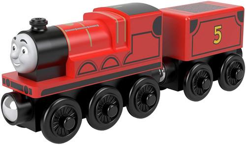 Thomas & Friends GGG62 Wood James Toy Train, Multi-Colour