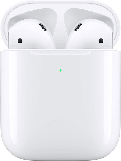 Apple AirPods Headphone Wireless Charging Case 2019 white