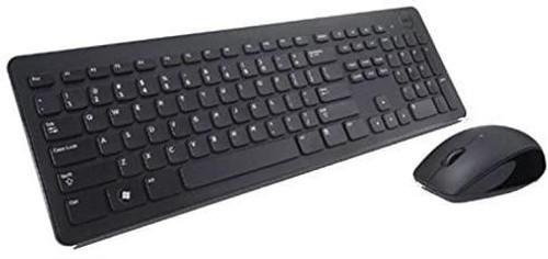 Dell KM636 - Keyboard and mouse set - wireless - QWERTY - UK - black - for Inspiron 34XX, 36XX, 54XX, 55XX, Precision Mobile Workstation 5750, 77XX, Vostro 36XX