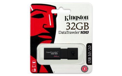 Kingston 32GB USB 3.0 DataTraveler 100 G3