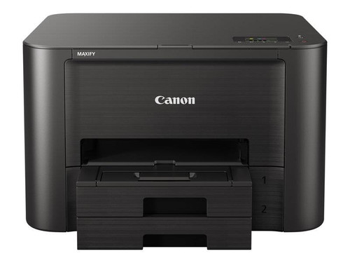 Canon MAXIFY iB4150 - Printer - colour - Duplex - ink-jet - A4/Legal - 600 x 1200 dpi - up to 24 ipm (mono) / up to 15.5 ipm (colour) - capacity: 500 sheets - USB 2.0, LAN, Wi-Fi(n)