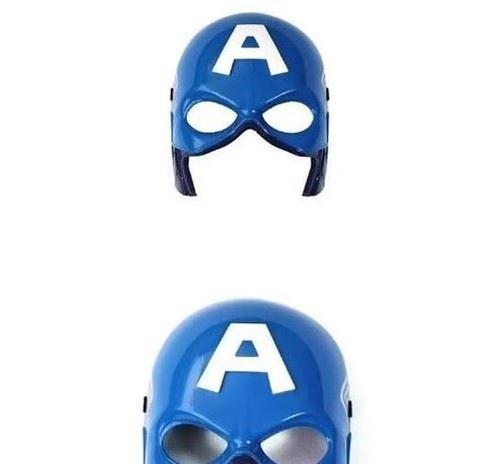 Party Led light Captain America Avengers Mask for children / Kids + Sound Effect