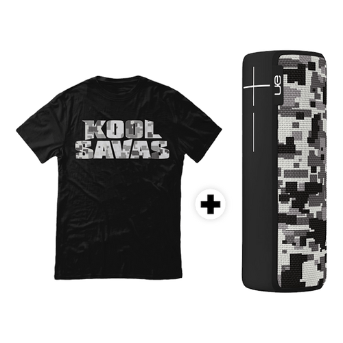 Ultimate Ears UE BOOM 2  Kool Savas Edt. cubic night + Free T-Shirt