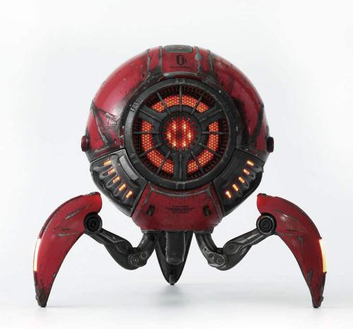 Zoeao GravaStar H Bluetooth Speaker  war-damaged red Limited Edition