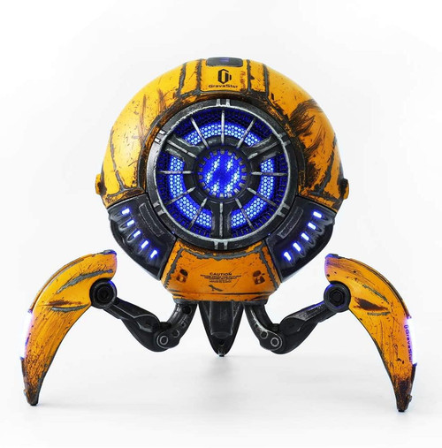 Zoeao GravaStar H Bluetooth Speaker  war-damaged yellow Limited Edition
