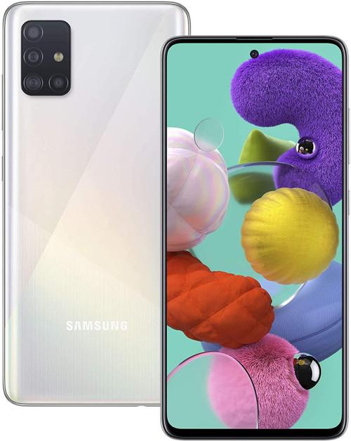 Samsung A515 Galaxy A51 4G 128GB 4GB RAM Dual-SIM prism crush white