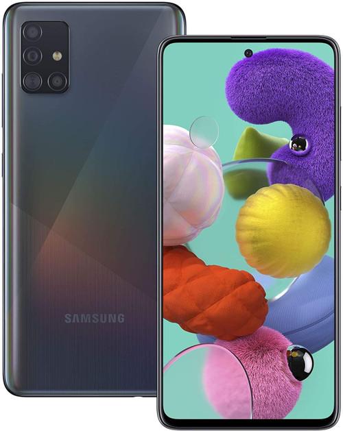 Samsung A515 Galaxy A51 4G 128GB 4GB RAM Dual-SIM prism crush black