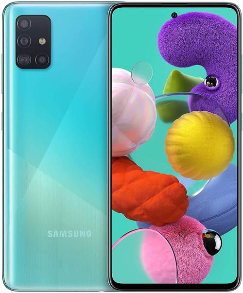 Samsung A515 Galaxy A51 4G 128GB 4GB RAM Dual-SIM prism crush blue