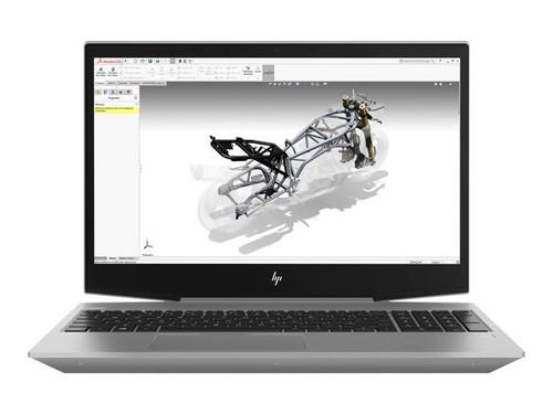 "HP ZBook 15v G5 Mobile Workstation - Core i7 8750H / 2.2 GHz - Win 10 Pro 64-bit - 16 GB RAM - 256 GB SSD (16 GB SSD cache) - 15.6"" 1920 x 1080 (Full HD) - Quadro P600 / UHD Graphics 630 - Wi-Fi, Bluetooth - turbo silver - kbd: UK"