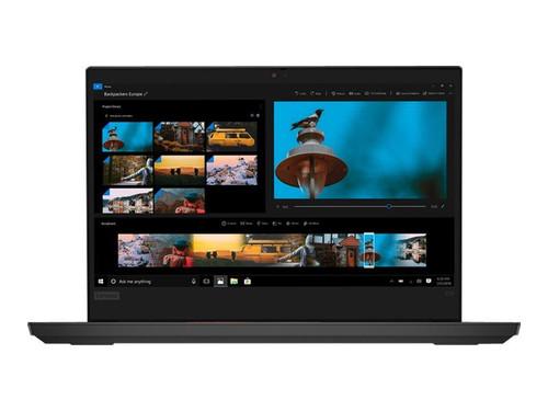 """Lenovo ThinkPad E14 20RA - Core i7 10510U / 1.8 GHz - Win 10 Pro 64-bit - 16 GB RAM - 512 GB SSD NVMe - 14"""" IPS 1920 x 1080 (Full HD) - UHD Graphics - Bluetooth, Wi-Fi - black - kbd: UK"""