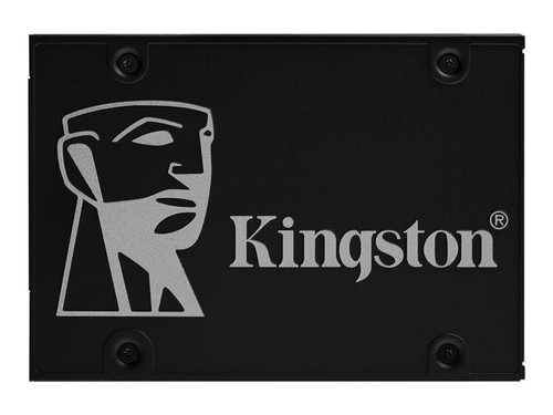 "Kingston KC600 - Solid state drive - encrypted - 512 GB - internal - 2.5"" - SATA 6Gb/s - 256-bit AES - Self-Encrypting Drive (SED), TCG Opal Encryption"