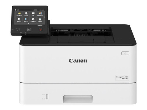 Canon i-SENSYS LBP228x - Printer - monochrome - Duplex - laser - A4/Legal - 1200 x 1200 dpi - up to 38 ppm - capacity: 350 sheets - USB 2.0, Gigabit LAN, Wi-Fi(n), USB host
