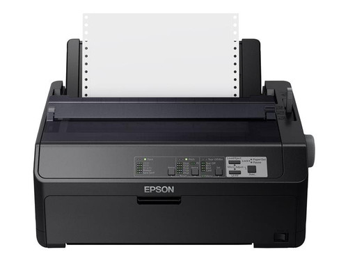 Epson FX 890II - Printer - monochrome - dot-matrix - Roll (21.6 cm), JIS B4, 254 mm (width) - 240 x 144 dpi - 9 pin - up to 738 char/sec - parallel, USB 2.0