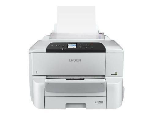 Epson WorkForce Pro WF-C8190DW - Printer - colour - Duplex - ink-jet - A3 - 4800 x 1200 dpi - up to 35 ppm (mono) / up to 35 ppm (colour) - capacity: 335 sheets - Gigabit LAN, NFC, USB 3.0, USB 2.0 host, Wi-Fi(ac)