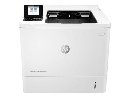 HP LaserJet Enterprise M607n - Printer - monochrome - laser - A4/Legal - 1200 x 1200 dpi - up to 52 ppm - capacity: 650 sheets - USB 2.0, Gigabit LAN, USB 2.0 host